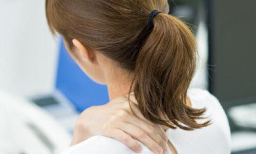 首や肩のこり・痛み